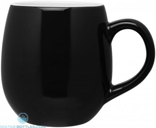 Black Rotondo Mugs 16 oz