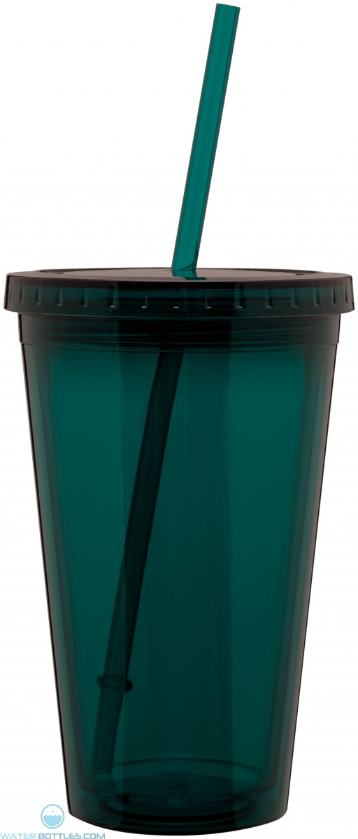 16 oz spirit tumbler-teal