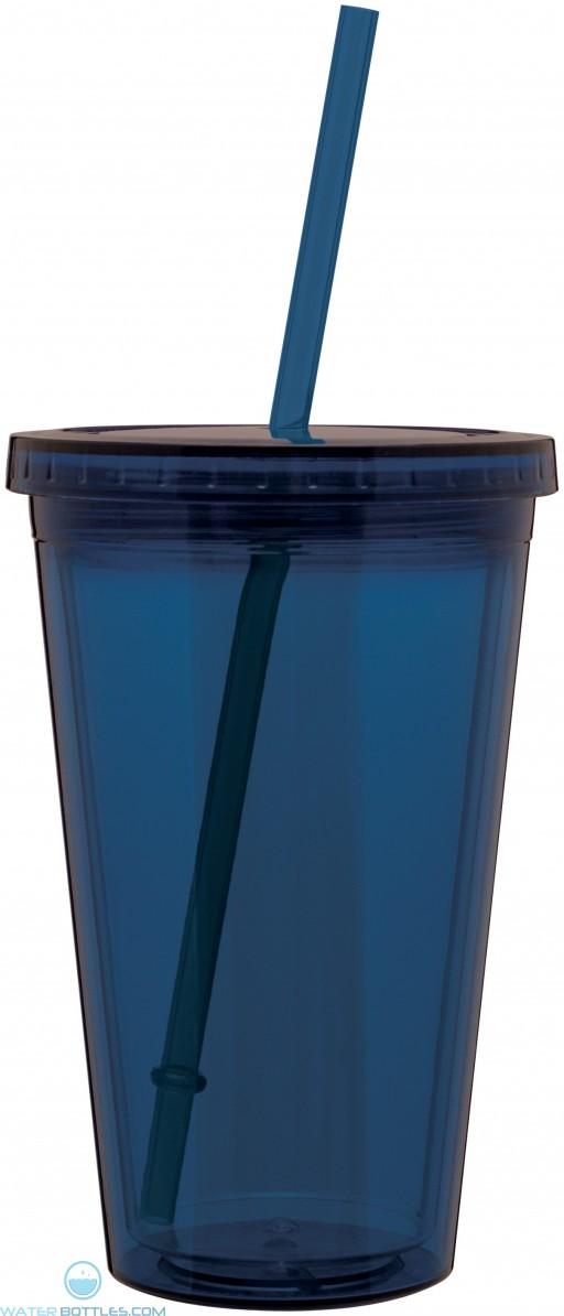 16 oz spirit tumbler-indigo blue