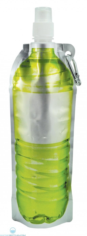Hydra Flat Bottles   18 oz - Green