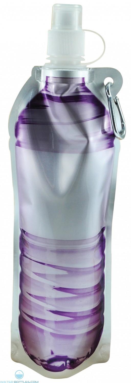 Hydra Flat Bottles | 18 oz - Purple