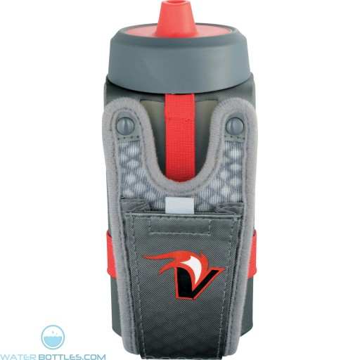 Promotional Handheld Sport Bottles   12 oz - Grey