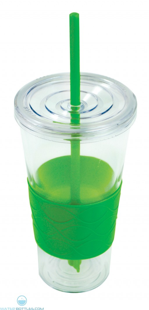 Double Wall Revolution Tumblers | 20 oz - Lime Green