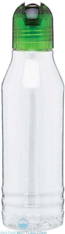 Green H2Go Tritan Flip Water Bottles   20 oz - Pear
