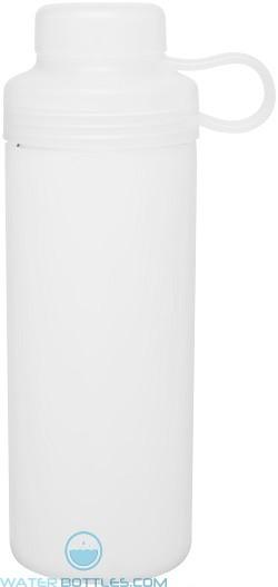 20 oz H2Go Zen Glass Water Bottles-White