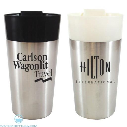 Personalized Promo Mugs - Classy Traveler Mug | 16 oz