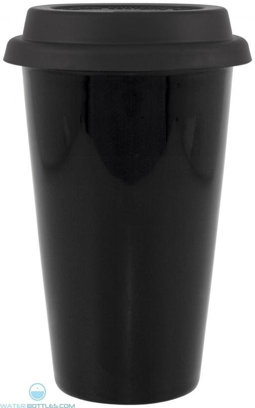 11 oz terra-black with black lid