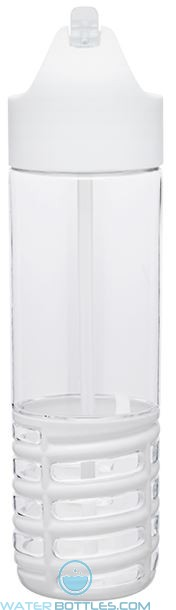 22 oz H2Go Swerve Tritan Water Bottles-White