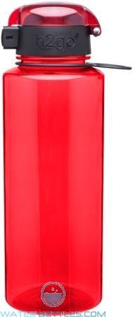 Eastman Tritan H2go Pismo Water Bottles   28 oz. - Red