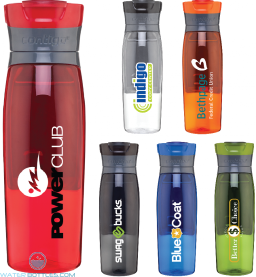 Personalized Water Bottles - Contigo Kangaroo Tritan Water Bottles | 24 oz