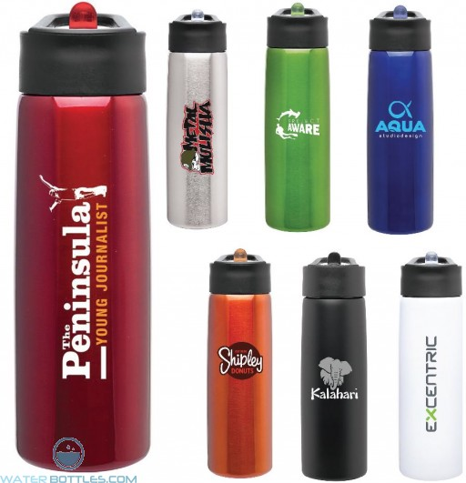 Custom Water Bottles - H2Go Hydra Water Bottles   24 oz