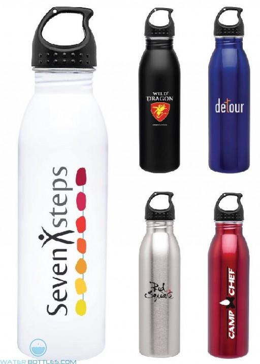 H2Go Solus Custom Water Bottles | 24 oz