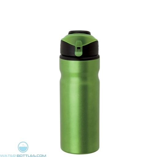 Aluminum Water Bottles   24 oz - Metallic Green