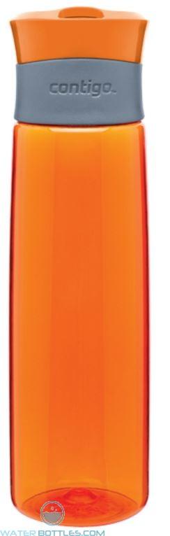 Orange Contigo Madison Plastic Water Bottles | 24 oz