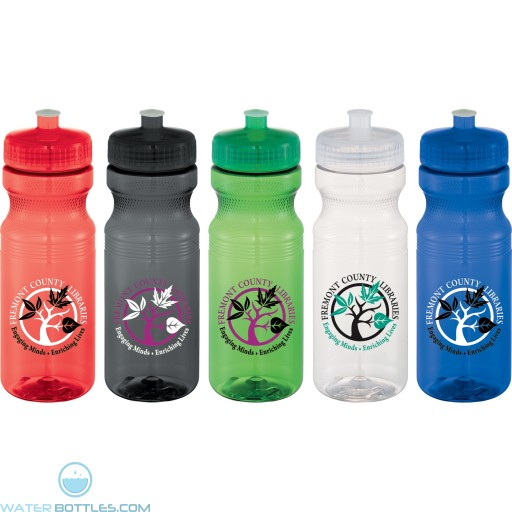 24 oz Cyrstal Easy Squeezy Sports Bottle