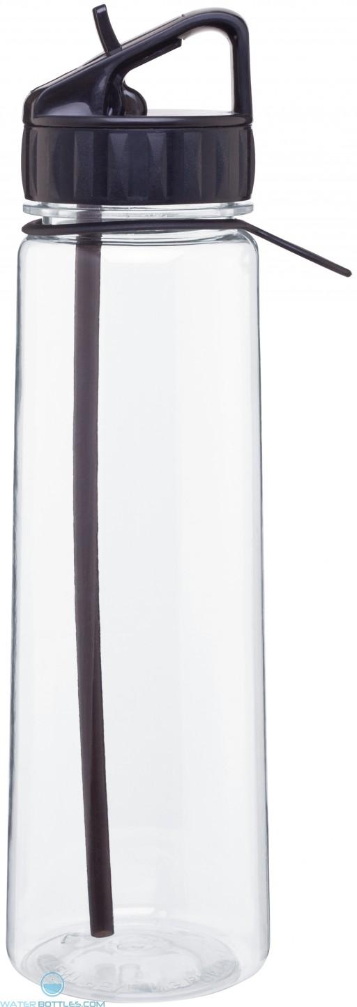 H2Go Angle Tritan Water Bottles | 30 oz - Black