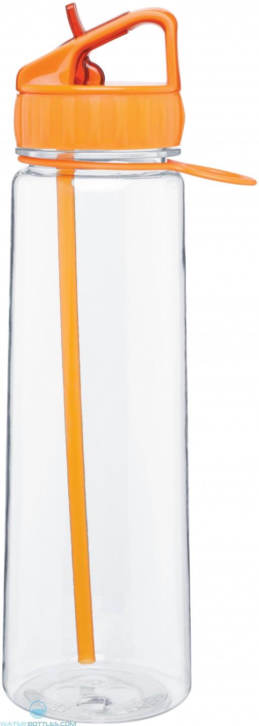 H2Go Angle Tritan Water Bottles | 30 oz - Tangerine