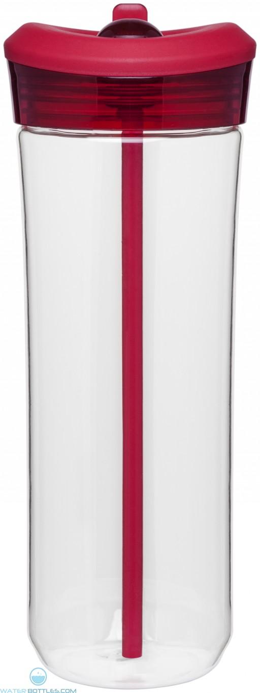 25 oz H2Go Mali Water Bottle_Red_Blank