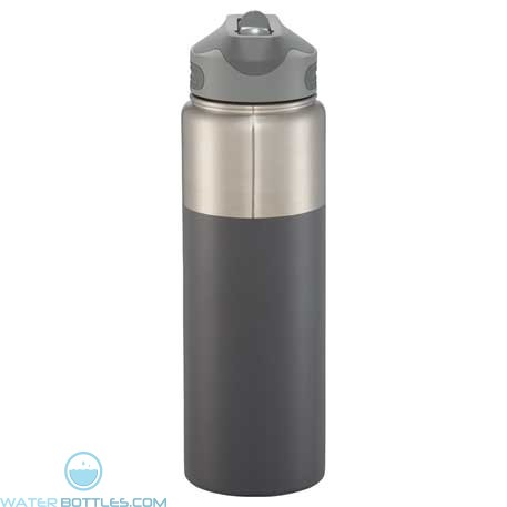 25 oz Nile Copper Vacuum Insulated Bottles-Gray