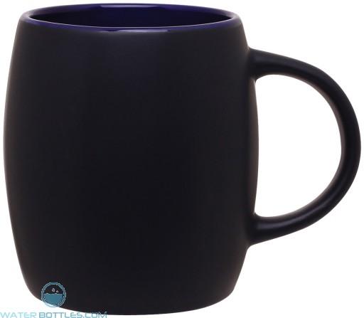 14 oz joe - matte black body-black/ cobalt blue