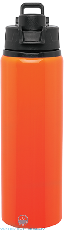 Neon Orange H2Go Surge Aluminum Water Bottles | 28 oz