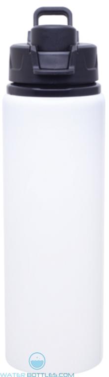 White H2Go Surge Aluminum Water Bottles   28 oz
