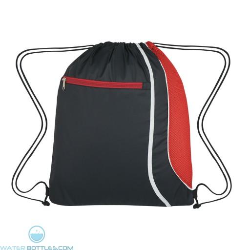 Custom Logo Drawstring Sports Pack - Red
