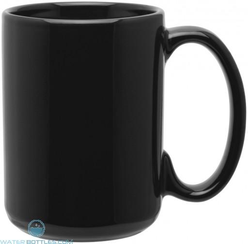 15 oz grande mugs - glossy-black