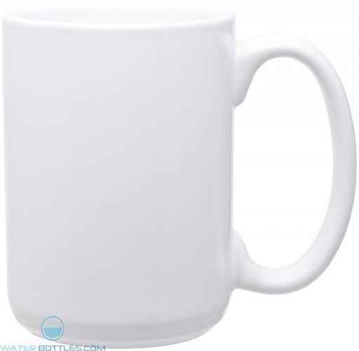 15 oz grande mugs - glossy-white