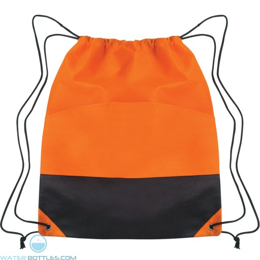 Custom Drawstring Sports Pack - Orange