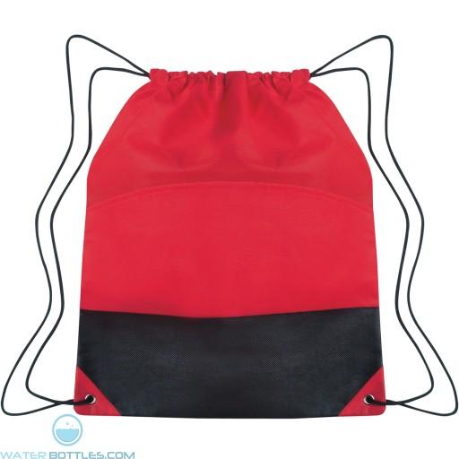 Custom Drawstring Sports Pack - Red
