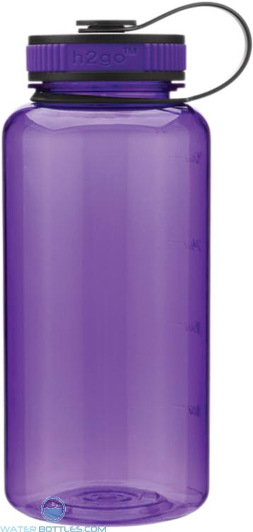Purple H2Go Wide Tritan Water Bottles | 34 oz