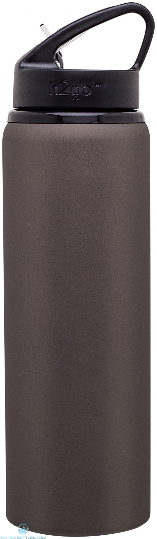 H2Go Allure Aluminum Water Bottles | 28 oz - Matte Gray