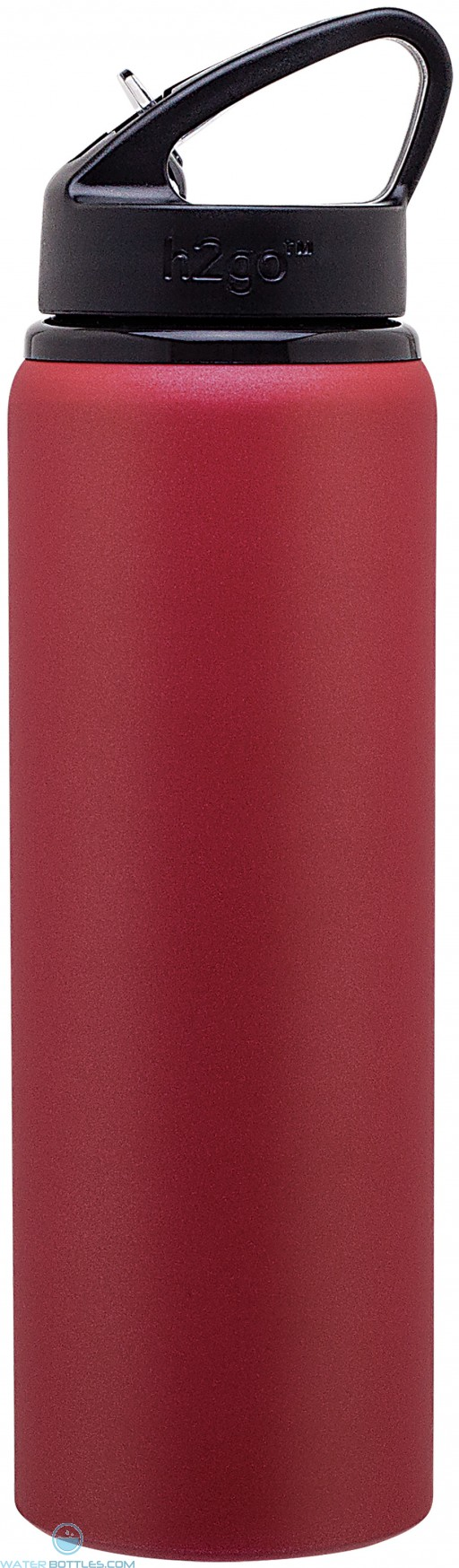 H2Go Allure Aluminum Water Bottles | 28 oz - Matte Red