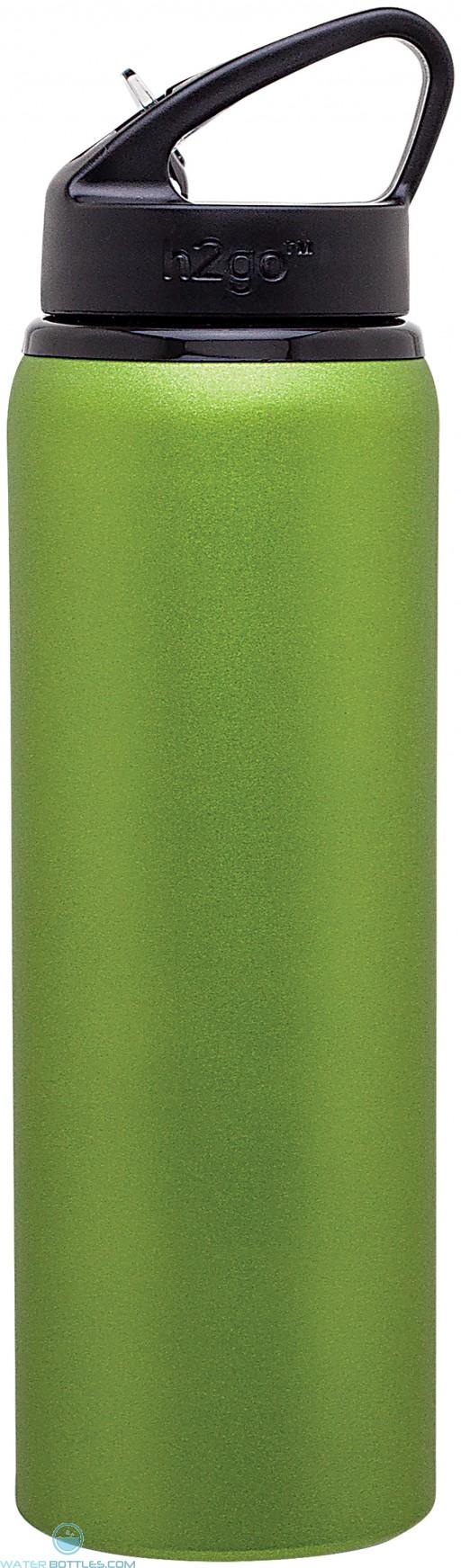 H2Go Allure Aluminum Water Bottles | 28 oz - Matte Lime