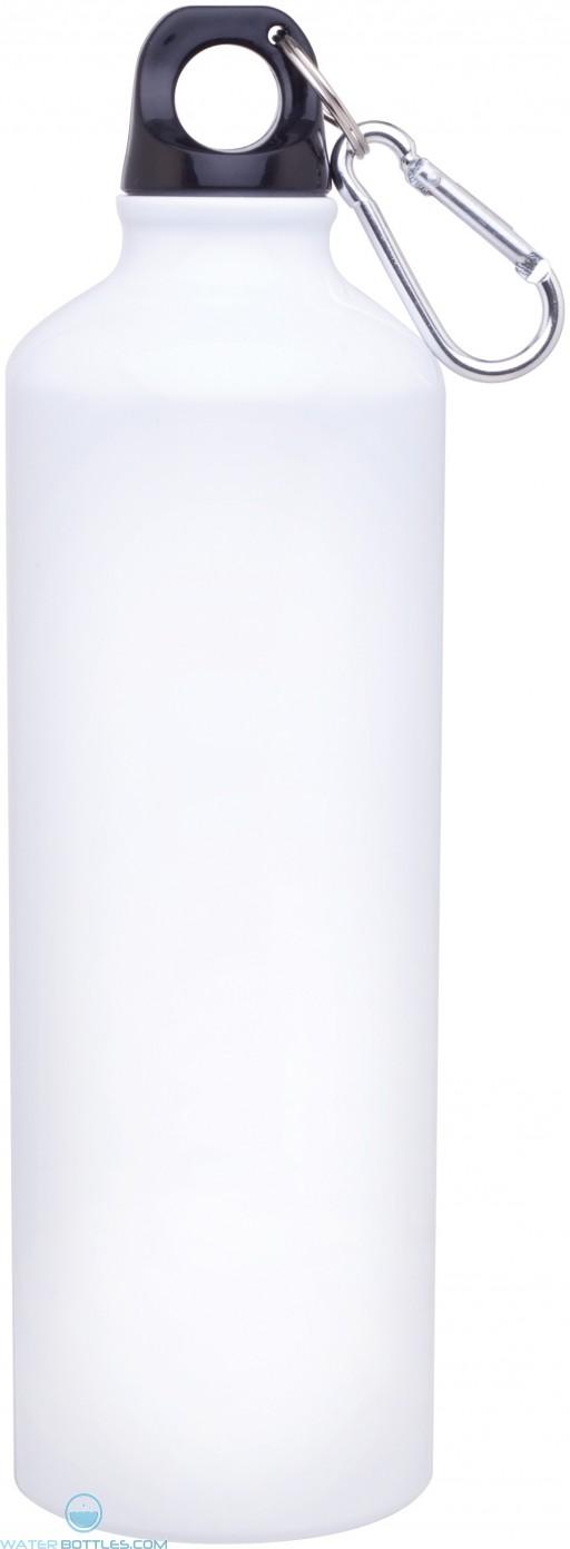 24 oz h2go aluminum classic-white