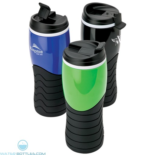Promo Tumblers - Personalized Tumbler with Grip   14 oz
