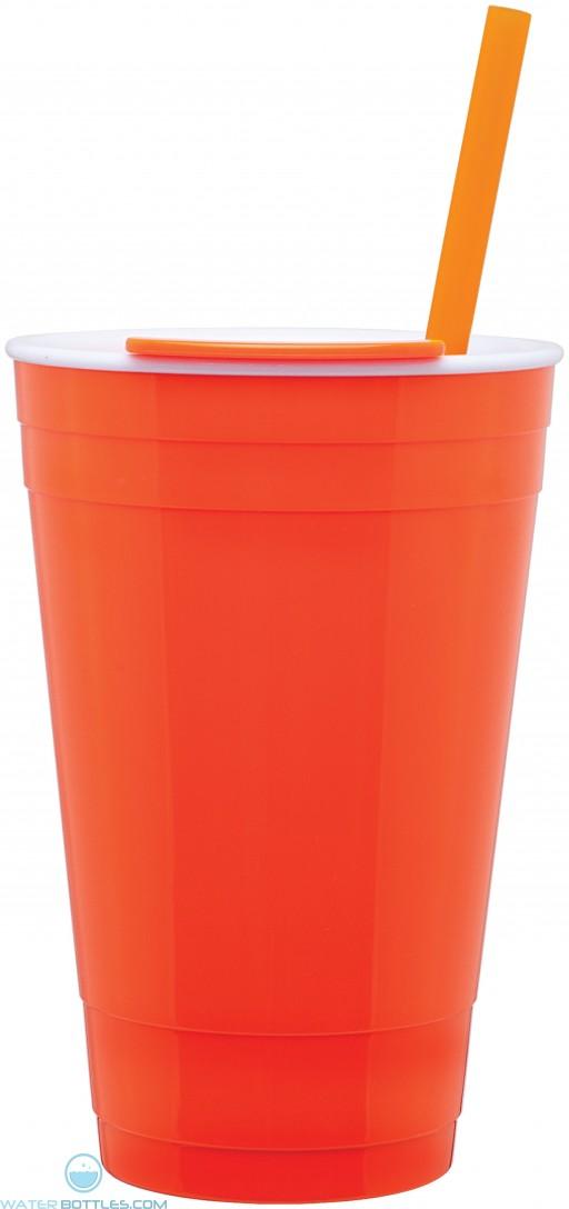 The Player Acrylic Cup | 16 oz - Neon Orange