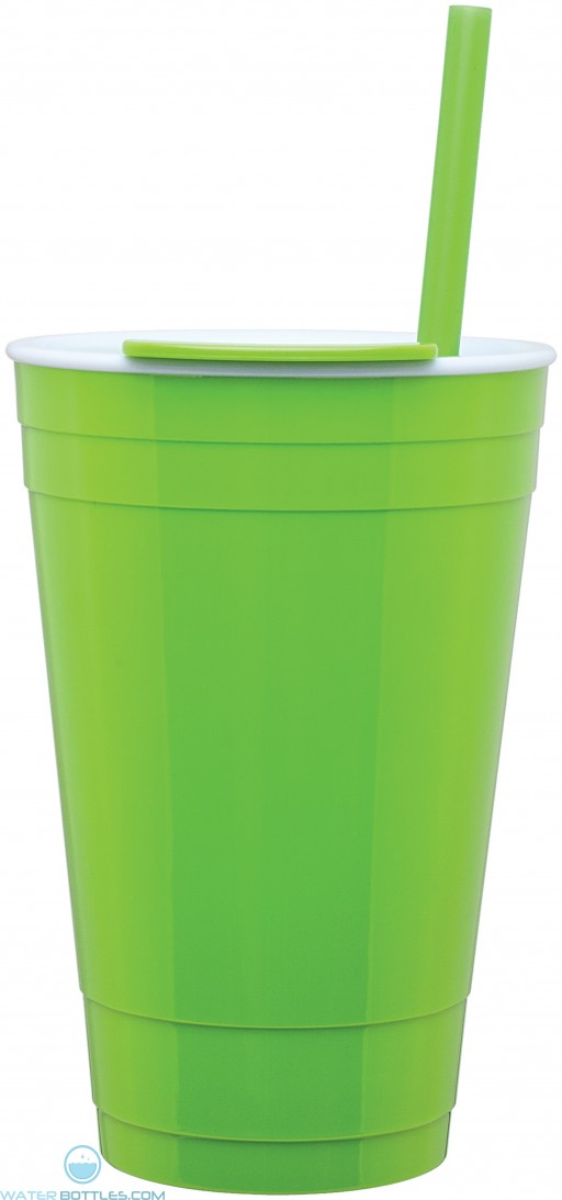 The Player Acrylic Cup | 16 oz - Neon Green