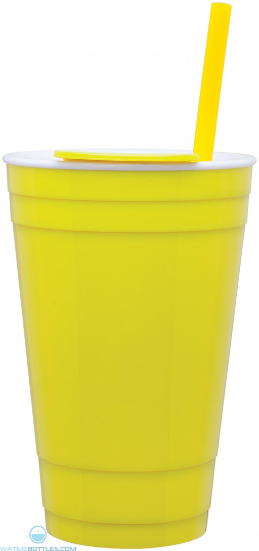 The Player Acrylic Cup | 16 oz - Neon Yellow