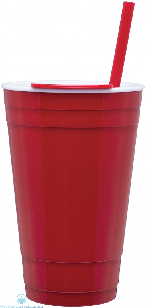 The Player Acrylic Cup | 16 oz - Red