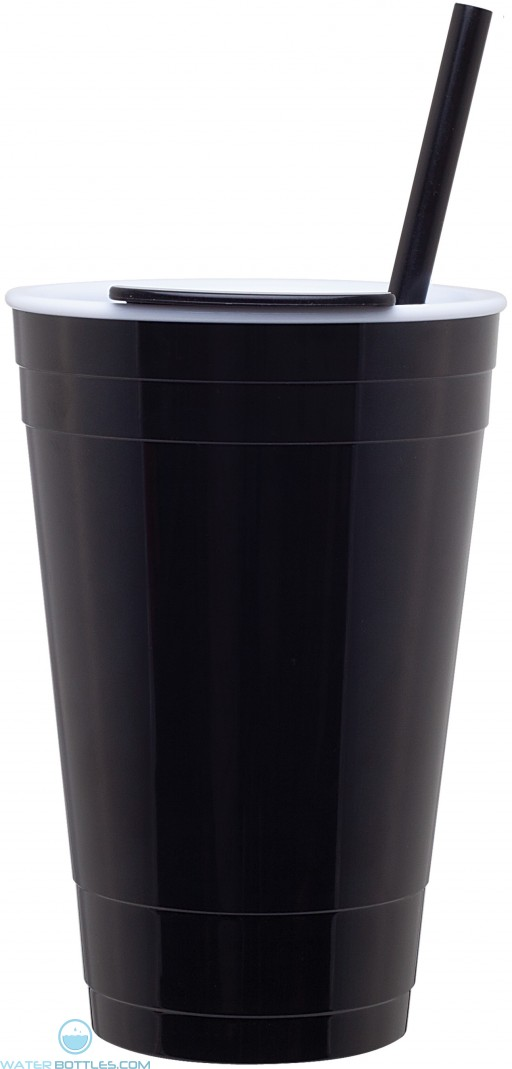 The Player Acrylic Cup   16 oz - Black