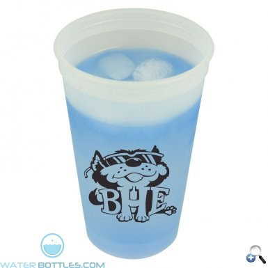 Promotional Cups - Cups-On-The-Go -20 oz. Cool Color Changing Cup