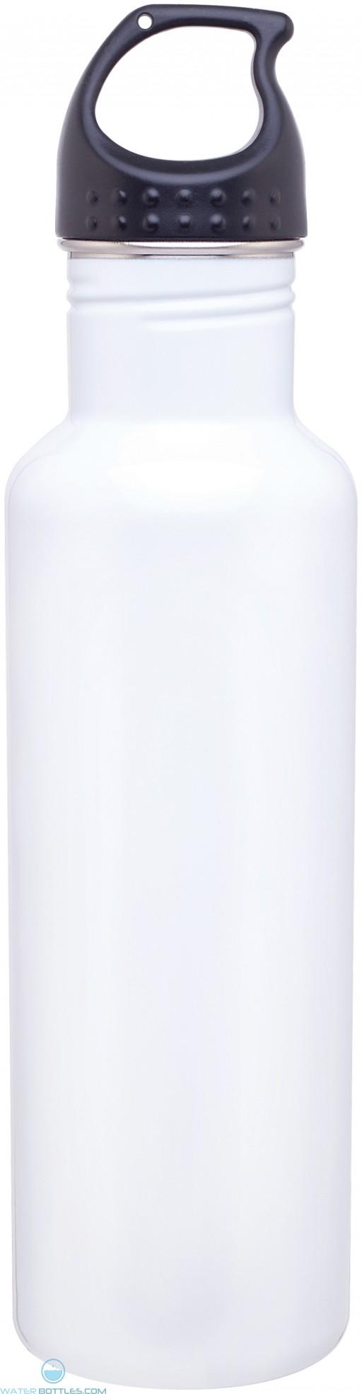 H2Go Stainless Steel Bolt   24 oz - White