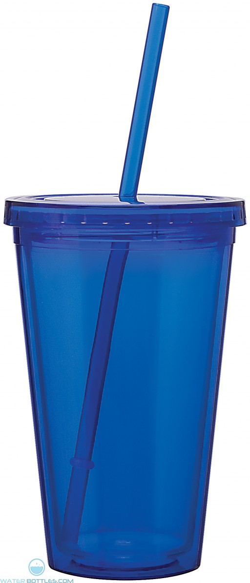 16 oz spirit tumbler-blue