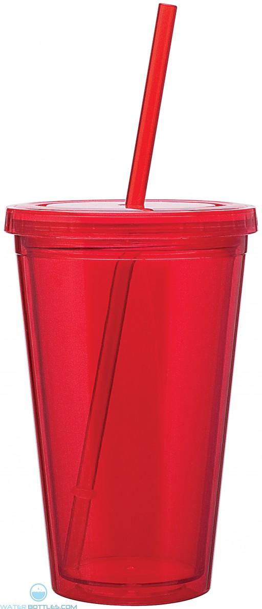 16 oz spirit tumbler-red