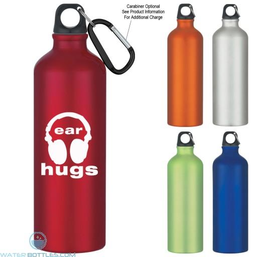 Personalized Water Bottles - Aluminum Bike Bottles   25 oz