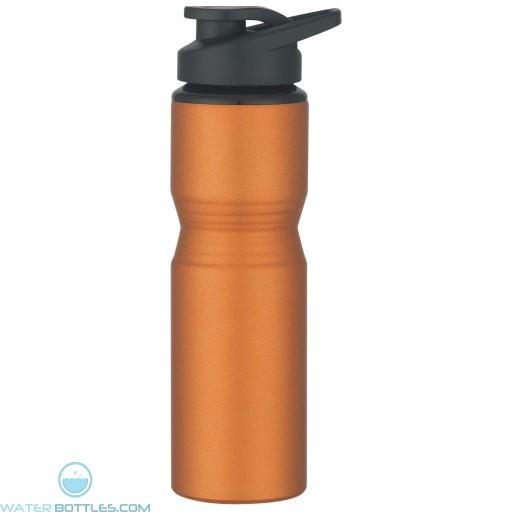 Aluminum Sports Bottles   28 oz - Metallic Orange