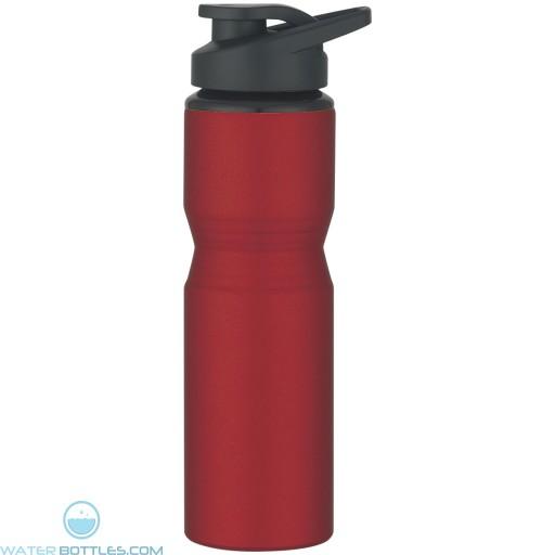 Aluminum Sports Bottles | 28 oz - Metallic Red