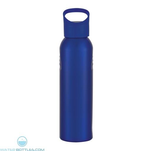 Aluminum Sports Bottles   20 oz - Blue